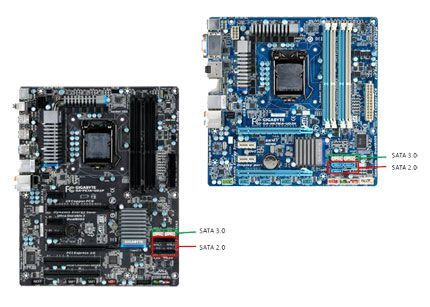 placa base GIGABYTE serie 6
