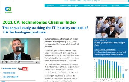 CA Technologies Channel Index