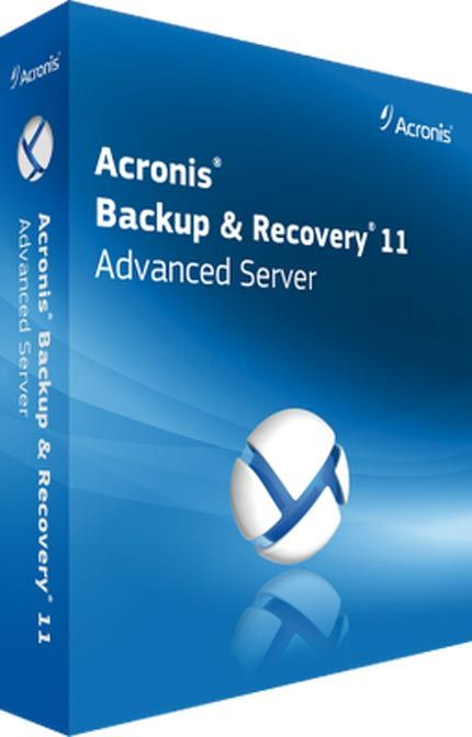 Acronis backup recovery