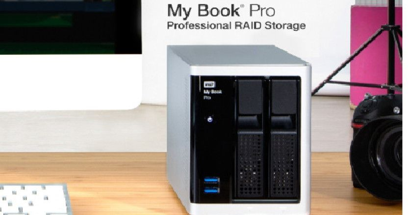 WD My Book Pro